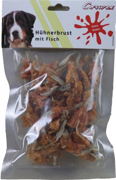 Hühnerbrust mit Fisch (250 g) – Zilinski Hundesnacks