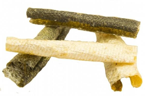 Lachshautrollen 50 g – Zilinski Hundesnacks