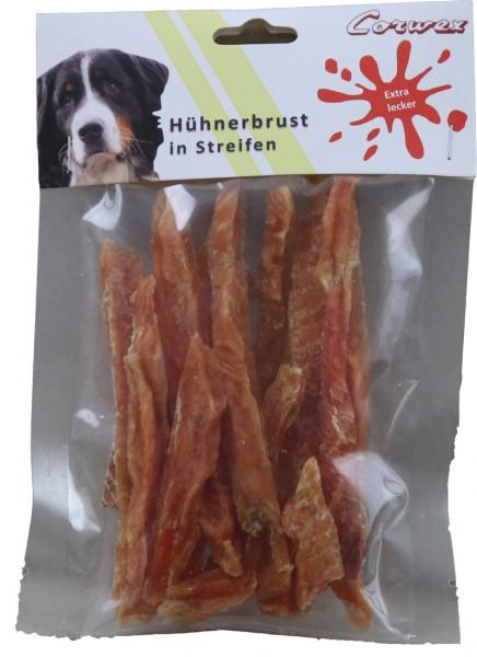 Hühnerbrust in Streifen (250 g) – Zilinski Hundesnacks