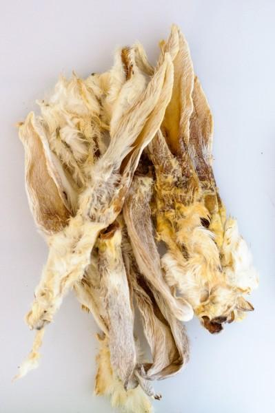 Kaninchenohren mit Fell (150 g)