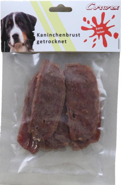 Kaninchenbrust getrocknet 70 g – Zilinski Hundesnacks