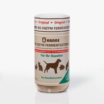 Kanne Bio Enzym Fermentgetreide für Haustiere 250 g Glas