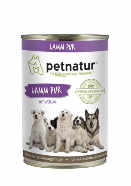 petnatur Lamm Pur 6x 400g