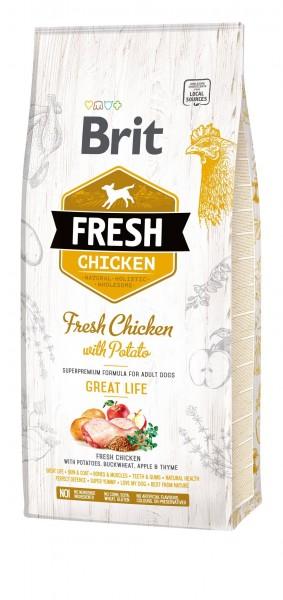 Brit Adult - Chicken - Great Life 12 kg