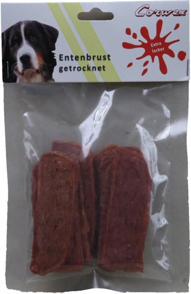 Entenbrust getrocknet 70 g – Zilinski Hundesnacks