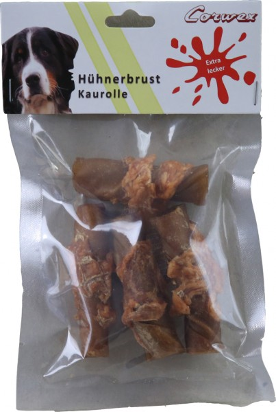 Hühnerbrust Kaurolle (250 g) – Zilinski Hundesnacks