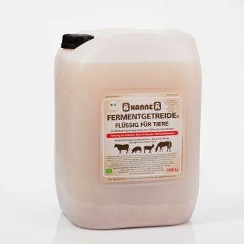Kanne Fermentgetreite - Flüssig für Tiere