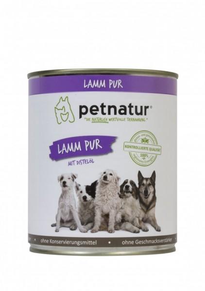 petnatur Lamm Pur 6x 800g