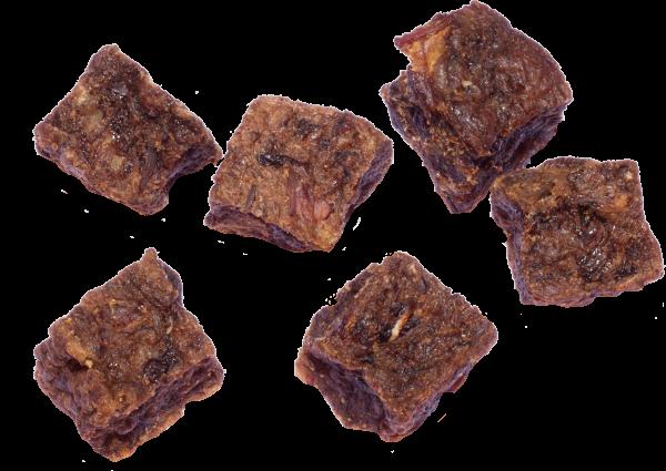 Lammfleisch-Würfelhappen 90 g – Zilinski Hundesnacks
